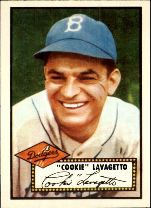 1983 Topps 1952 Reprint #365 Cookie Lavagetto CO