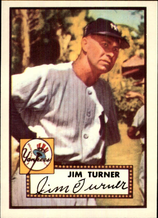 1983 Topps 1952 Reprint #373 Jim Turner CO