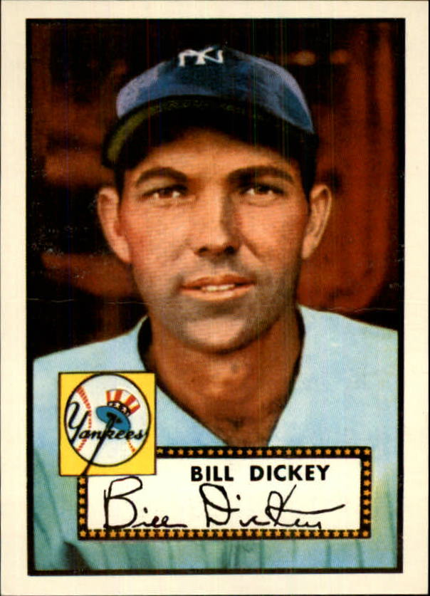 1983 Topps 1952 Reprint #400 Bill Dickey CO