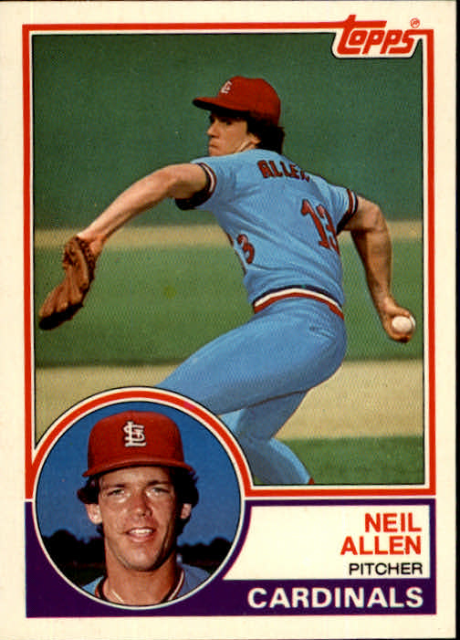 1983 Topps Traded #1T Neil Allen