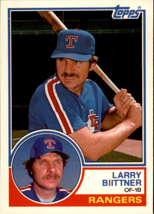 1983 Topps Traded #10T Larry Biittner