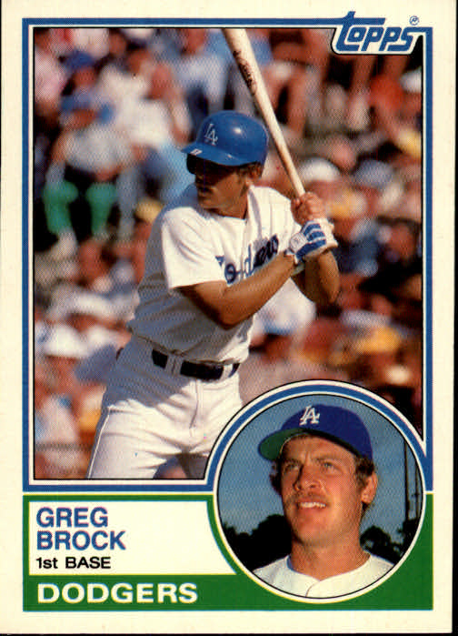 1983 Topps Traded #14T Greg Brock