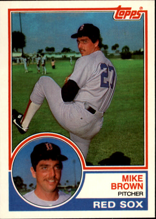 1983 Topps Traded #15T Mike C. Brown