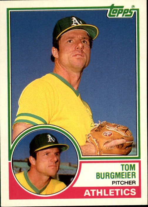 1983 Topps Traded #16T Tom Burgmeier