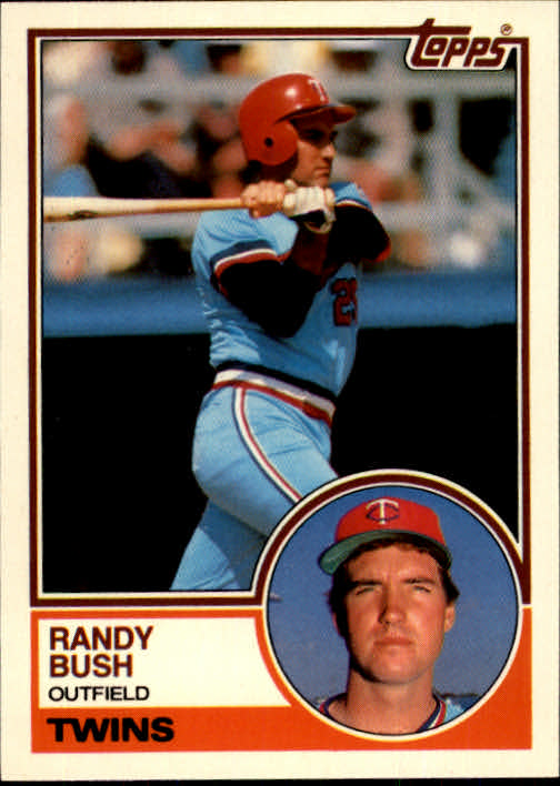 1983 Topps Traded #17T Randy Bush