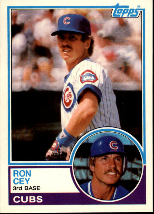 1983 Topps Traded #19T Ron Cey