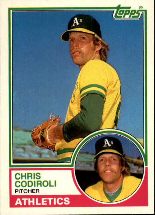 1983 Topps Traded #20T Chris Codiroli