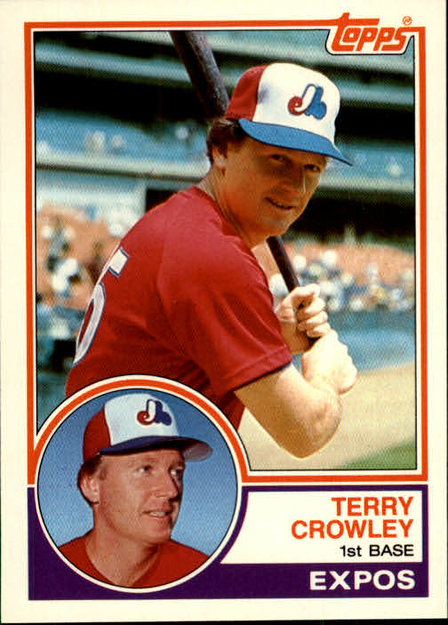 1983 Topps Traded #22T Terry Crowley