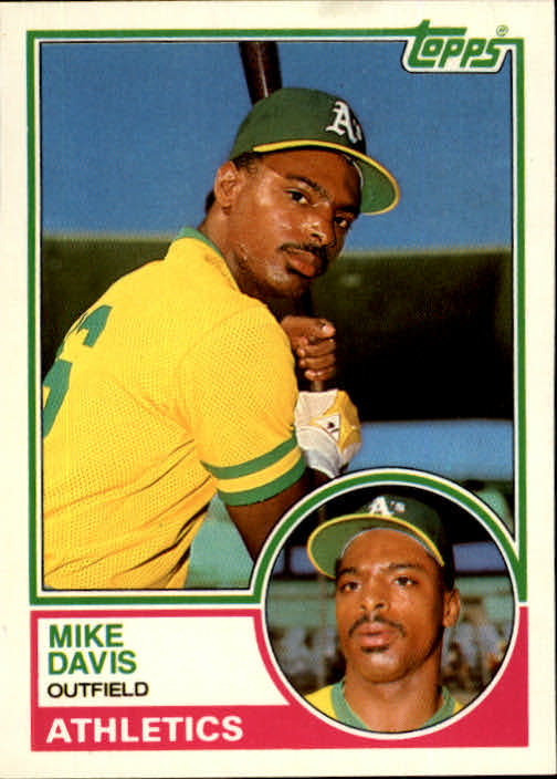 1983 Topps Traded #24T Mike Davis