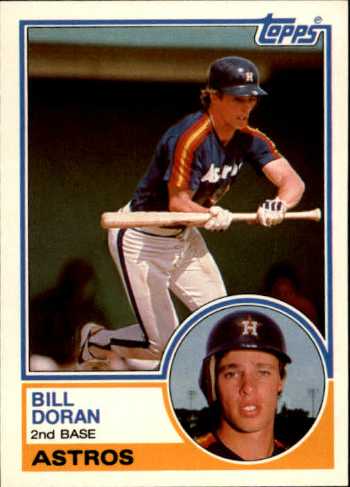 1983 Topps Traded #26T Bill Doran XRC
