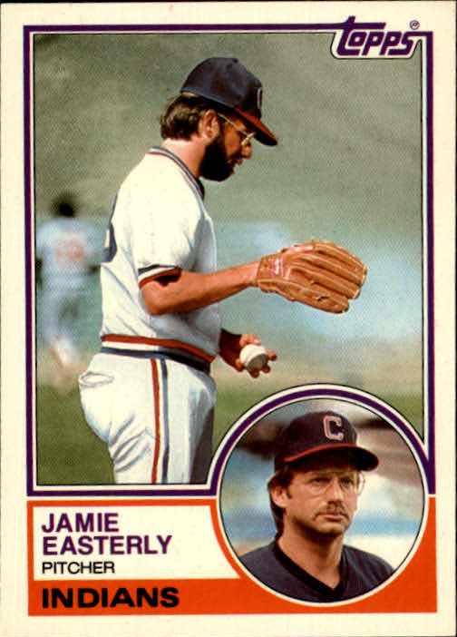 1983 Topps Traded #28T Jamie Easterly