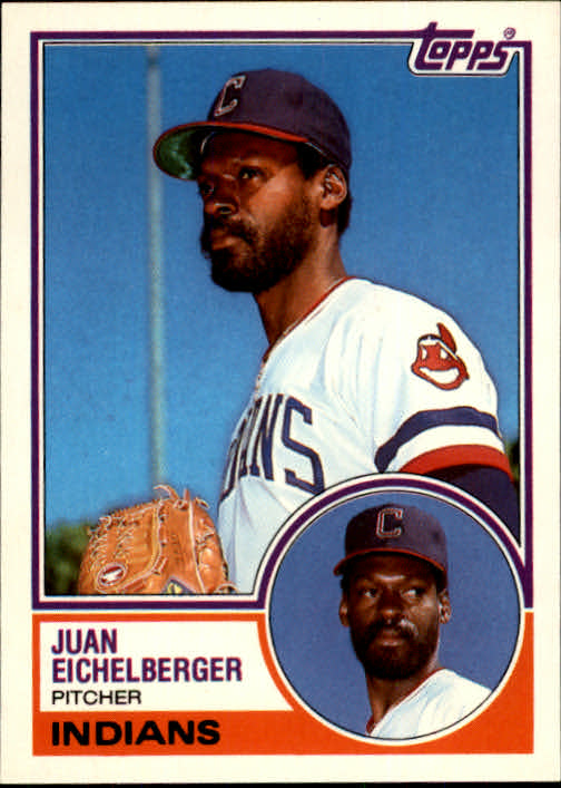 1983 Topps Traded #29T Juan Eichelberger