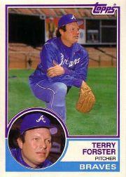 1983 Topps Traded #33T Terry Forster