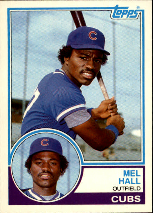 1983 Topps Traded #39T Mel Hall XRC