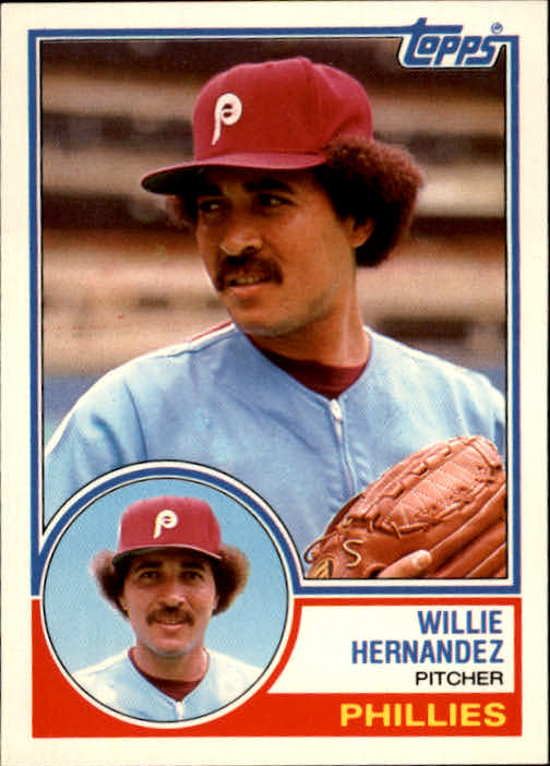 1983 Topps Traded #45T Willie Hernandez