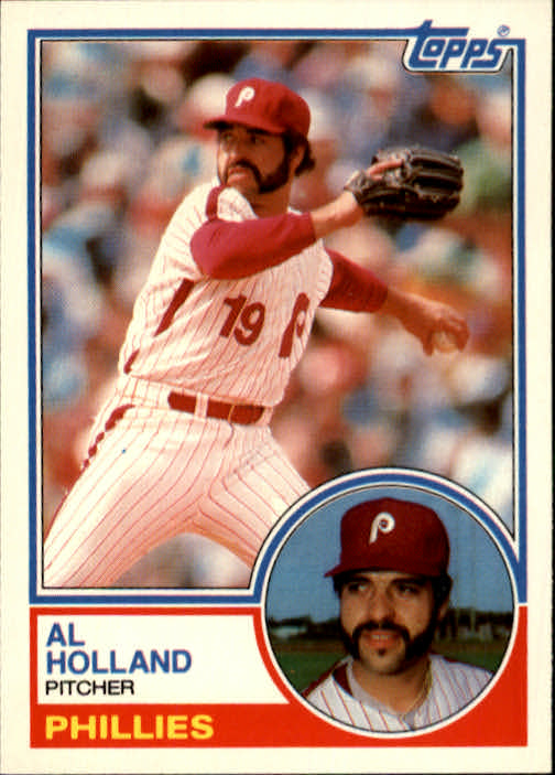 1983 Topps Traded #46T Al Holland