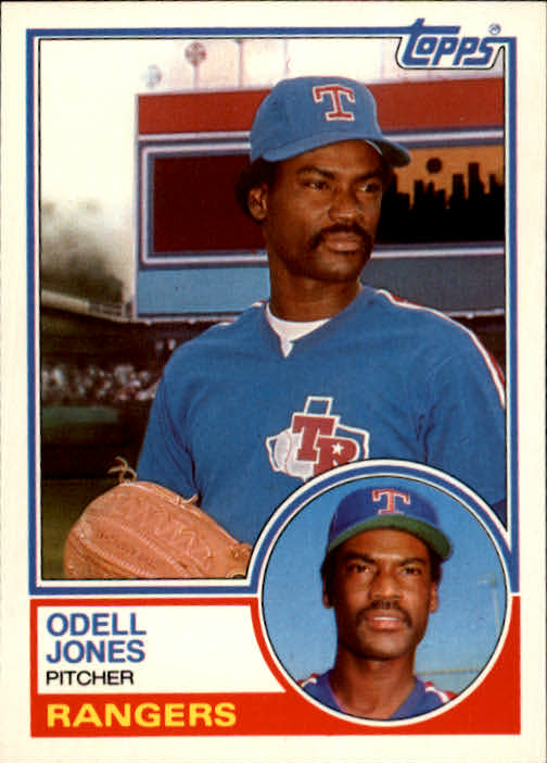 1983 Topps Traded #50T Odell Jones