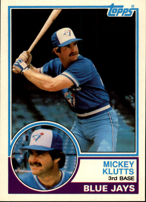 1983 Topps Traded #56T Mickey Klutts