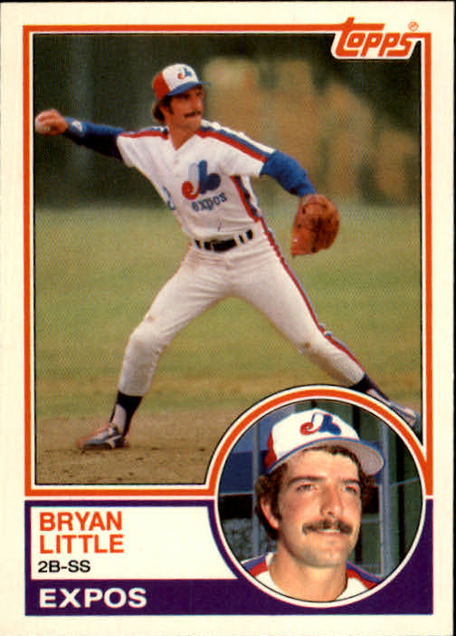 1983 Topps Traded #62T Bryan Little