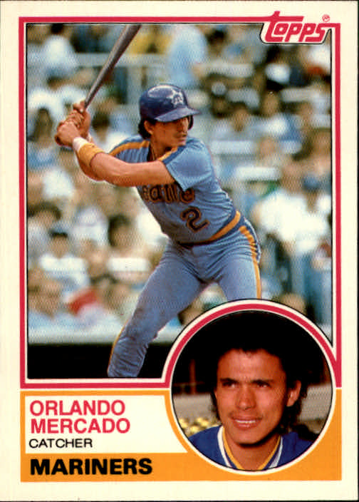 1983 Topps Traded #71T Orlando Mercado