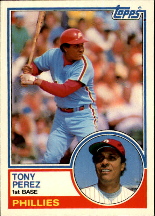 1983 Topps Traded #85T Tony Perez