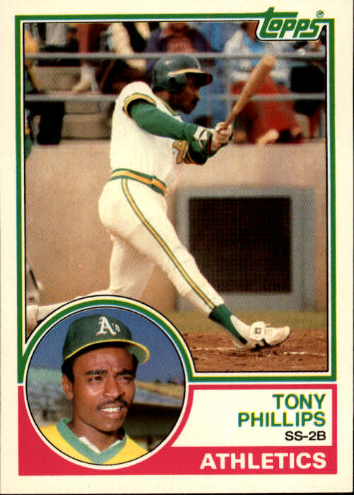 1983 Topps Traded #87T Tony Phillips XRC