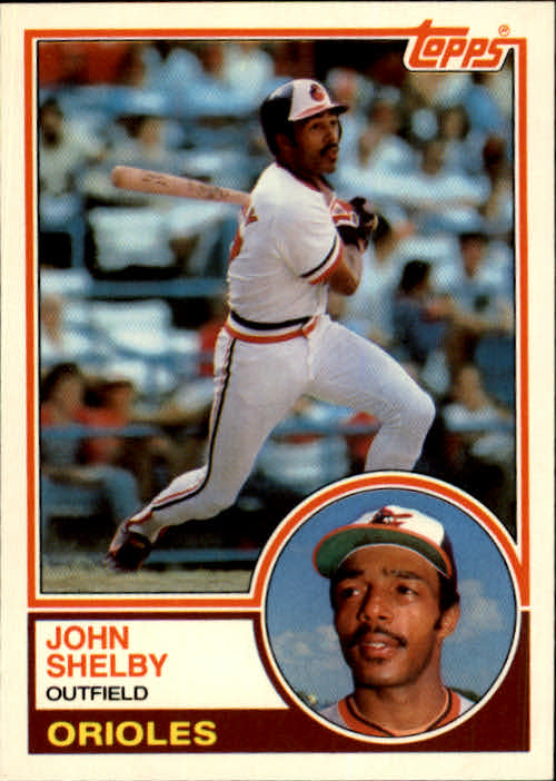 1983 Topps Traded #102T John Shelby