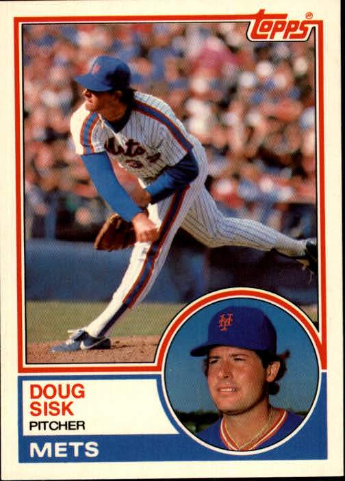 1983 Topps Traded #105T Doug Sisk