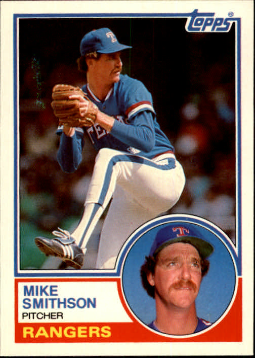 1983 Topps Traded #106T Mike Smithson
