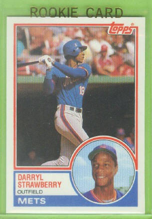 1983 Topps Traded #108T Darryl Strawberry XRC