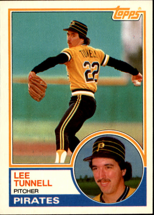 1983 Topps Traded #118T Lee Tunnell