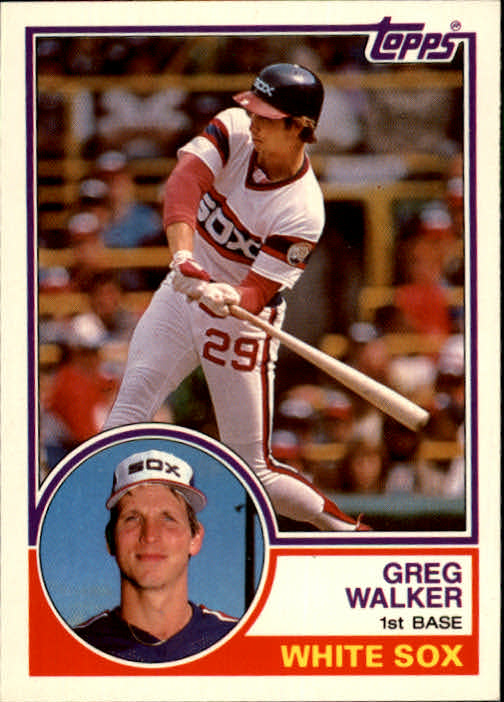 1983 Topps Traded #124T Greg Walker
