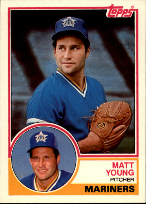 1983 Topps Traded #129T Matt Young XRC
