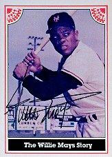 1983 ASA Willie Mays 12 #1 Willie Mays AU