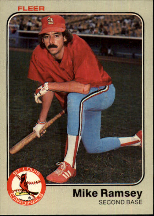1983 Fleer #19 Mike Ramsey