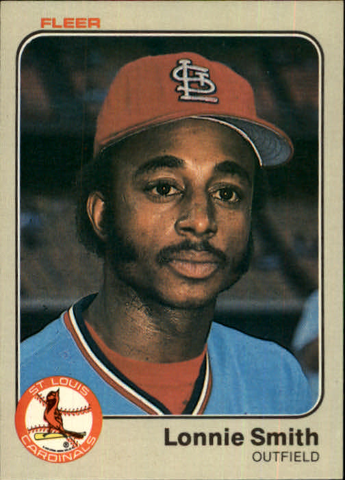 1983 Fleer #21 Lonnie Smith