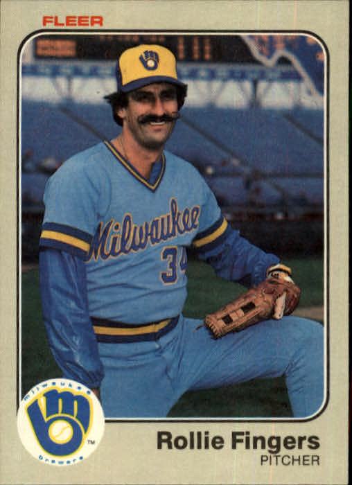 1983 Fleer #33 Rollie Fingers