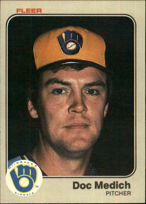 1983 Fleer #39 Doc Medich