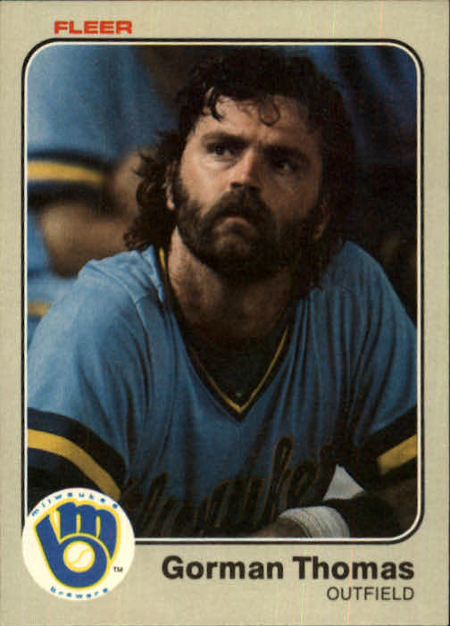 1983 Fleer #48 Gorman Thomas