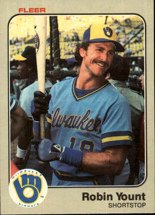 1983 Fleer #51 Robin Yount