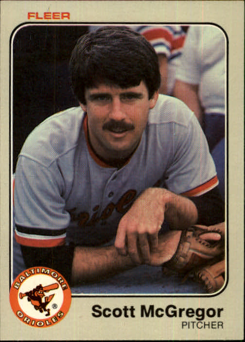 1983 Fleer #66 Scott McGregor