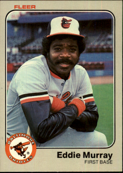 1983 Fleer #67 Eddie Murray