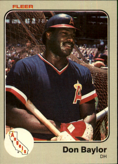 1983 Fleer #77 Don Baylor