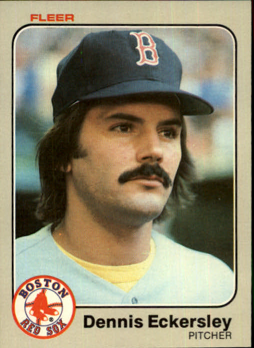 1983 Fleer #182 Dennis Eckersley
