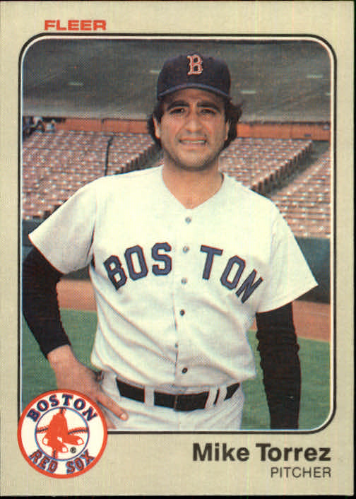 1983 Fleer #197 Mike Torrez