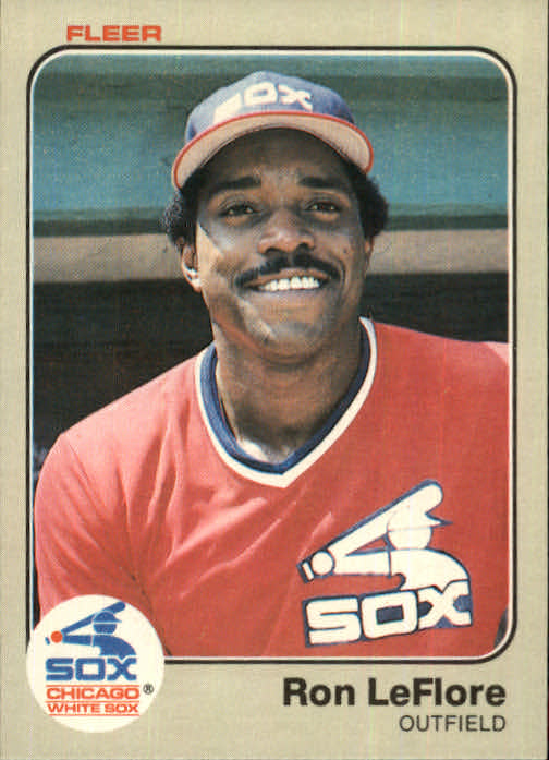 1983 Fleer #246 Ron LeFlore