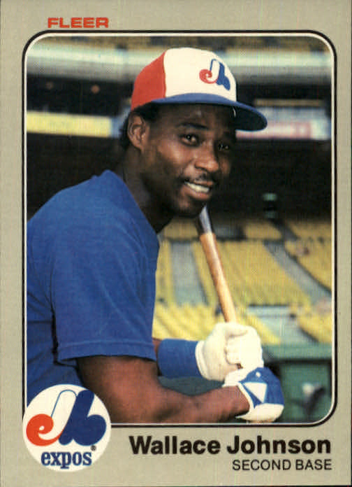 1983 Fleer #285 Wallace Johnson