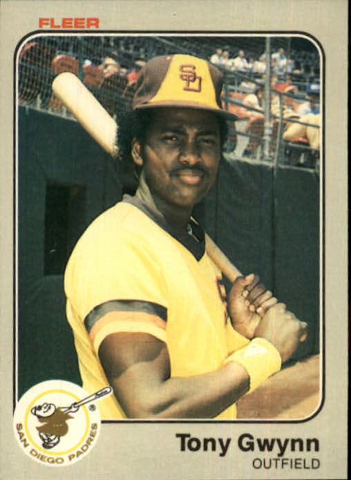1983 Fleer #360 Tony Gwynn RC front image