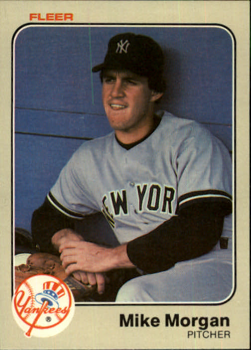 1983 Fleer #388 Mike Morgan