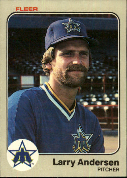 1983 Fleer #470 Larry Andersen